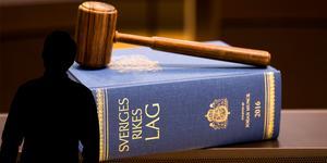 Mannen döms till villkorlig dom och 50 timmars samhällstjänst. Foto: TT