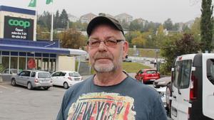 Lennart Lögdqvist, 63 år, pensionär, Indal.