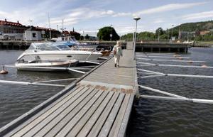 Nu är servicen i Sundsvalls Gästhamn bortsparad.