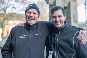 Bo-Örjan Dahlberg och Magnus Carlström