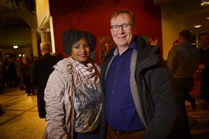 Joseline och Görgen Nordlander från Sundsvall har lyssnat mycket på Lisa Nilsson.