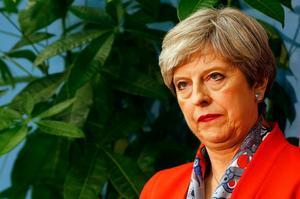 Storbritanniens premiärminister Theresa May. Arkivfoto/TT