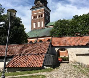Det gamla skolfängelset Proban skulle, vid ett grönområde, kunna göras mer tillgängligt än det är i dag, menar Alice Widlund.
