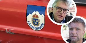 Per Åsling (C) och Richard Svedjesten.