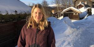 Ellen Hoas Ströman jobbar som handläggare på Leader Sjö skog och fjäll som har kontor bland annat i Funäsdalen.