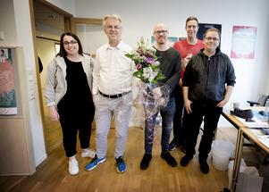 Förutom det lokala publikrekordet som sattes lagom till årets tio års jubileum har Live at heart växt geografiskt. – Tidigare i år gjorde vi ett nedslag i Västerås och Live at heart Newfoundland har utvecklats som en sorts lillasyster. En jätterolig grej är Senior at heart där vi ordnar spelningar på olika seniorboenden i Örebro. Vi har även tagit plats i länet och hade i år en scen i Laxå, säger Åke Lundström, vd, här tillsammans med Marim Shamasha, Daniel Lundsten, Magnus Tunmats och Anders Jansson.