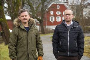 Idén att skapa Eivor tändes när Peter Blomqvist spelade det amerikanska tvåmannabandet the Black Keyes för Henrik Hägg.