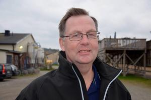 Bergsåkers travbanechef Jens Berglund är lättad. Bild: Tobias Jonsson.