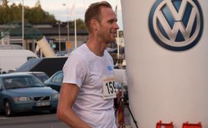 Längdåkaren Daniel Richardsson var på plats och tävlade med, och för Hudiksvalls IF.