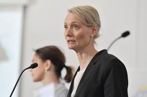 Karin Tegmark-Wisell från Folkhälsomyndigheten. Foto: Jessica Gow