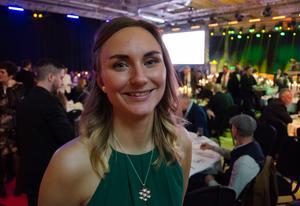 Lisa Lindblom var en av representanterna för STF Jämtland-Härjedalen, som fick priset