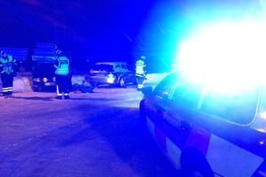 Två personbilar kolliderade vid korsningen Oxbergsvägen/Vasagatan i Mora.
