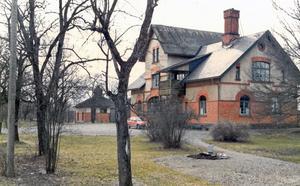 Stationshuset i Sällinge är numera ett bostadshus.  Foto: Privat