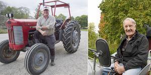 Ett tjugotal traktorförare  utmanar på lördag Bertil Mattssons ledarskap, berättar Lars-Gunnar Dahlström (till vänster).