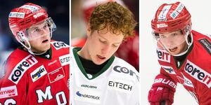 Oscar Pettersson, Oscar Öhman och Victor Öhman kommer samtliga att representera andra klubbar än Modo Hockey kommande säsong.