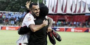 """""""Det största jag åstadkommit"""", säger Nouri om ligasegern. Bild: Bali United."""