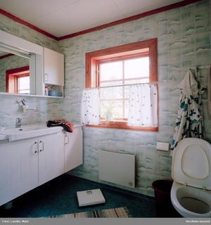 Det glada 1980-talet kom med pastellfärger och mönster, i hemmets alla vrår.Foto: Mats Landin/Nordiska museet