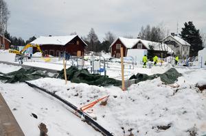 Lagom till älgjakten ska bygget i Vansbro vara klart för inflyttning.