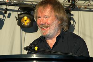 Benny Andersson i Stadsparken i Örebro 2005. Min idol! Foto: Jan-Åke Siljeström