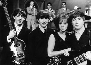 Beatles medverkade i tv-programmet