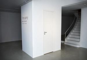 Karin Jonsson grät i sin utställning på Centralgalleriet.