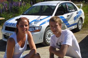 Maria Andersson och Patrik Flodin siktar på SM-medalj och testar även VM.