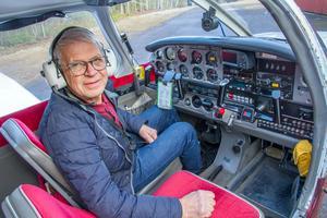 Avesta Motorflygklubb säger nej till den planerade dragningen av kraftledningen. Enligt ordförande Håkan Nyman är den ett hot mot verksamheten och säkerheten.