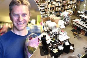Bröderna Henrik Lindh (bilden) och Johan Rehnström har blivit årets företagare på grund av deras e-företag Globisen AB, mera känt som Skistart.