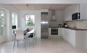 Själva köken var redan Svanenmärkta vilket förenklade den delen av bygget.