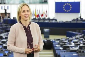 Svenska EU-parlamentsledamoten Jytte Guteland (S). Arkivfoto.