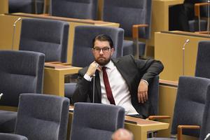 Jimmie Åkesson (SD). Foto: TT