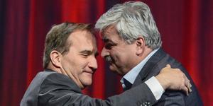 När Håkan Juholt tvingades avgå som S-ledare berodde detta på partiets mycket låga opinionssiffror. De låg då strax under 25 procent. I dag är siffrorna till och med lägre. Foto: Claudio Bresciani, TT.