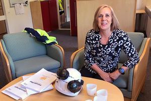 Miljöingenjör Birgitta Johansson har arbetat på Fors Bruk sedan 2014.