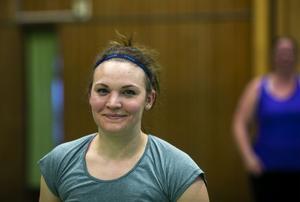 Sanna Staf är ledare för Hit-passet i Krokoms sporthall.