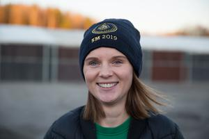 Södertälje ridklubbs sportchef Jenny Andersson.