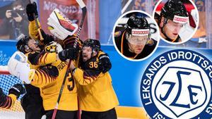 Tysklands finalplats i OS-hockeyn är historisk. Leksands tyska duo Marcel Müller och Daniel Pietta berättar om den osannolika turneringen. Foto: Petter Arvidson/Bildbyrån