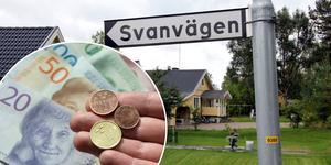 Företag Framfast vill köpa marken vid Svanvägen av kommunen och bygga 32 hyresrätter – om företaget beviljas investeringsstöd.