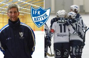 Joakim Björkman ledde laget tillbaka till allsvenskan under sin första säsong som huvudtränare för IFK Rättvik.