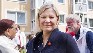 Magdalena Andersson (S), finansminister.