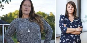 Alexandra Eldstål och Jessica P Klemetsson. Foto: Kommunal