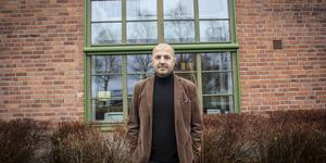 Ufuk Ergovan, delägare och vd för Crewcom som har kontor i gamla Till-bryggeriet på Storsjö strand.