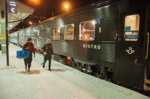 Sedan i juni 2018 går det nattåg söderut varje dag från Jämtland.