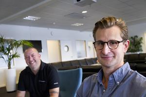 – Han förhörde sig noggrant om vilka vi var, vem jag var och vart vi är på väg, säger Jonte Bergman om när Albin Jansson anställdes som strategisk affärsutvecklare.