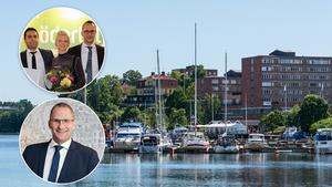 VÄGEN FRAMÅT. – När vi hjälps åt i Södertälje ger det ringar på vattnet. Fler vill flytta hit, särskilt när de märker hur Södertäljeborna trivs med varandra. Staden är ju dessutom hur vacker som helst, säger Andreas Ersson.