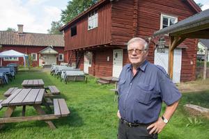 Kurt Fosselius har skött om  Åsgårdarna i över 20 år.