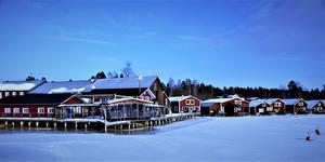 Mellanfjärdens fiskeläge. Bild: Joacim Nilsson.