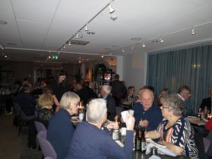 Middag på Kitchen & Table innan revyföreställning Helt Rätt på Storsjöteatern. Foto: Kurt Söderlund