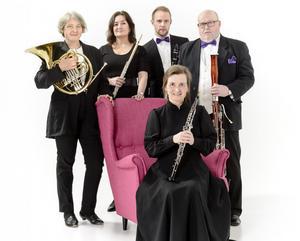 Nordiska Blåsarkvintetten - en av orkestern ensembler som också bidrar till generalprogrammet. Bild: Lia Jacobi