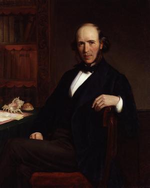 Herbert Spencer 1872. Målning av John Bagnold Burgess.