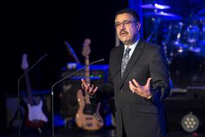 Dr  Ahmad Sarmast grundade Afghanistans nationella musikinstitut, Anim, 2008. I år får musikskolan Polarpriset
